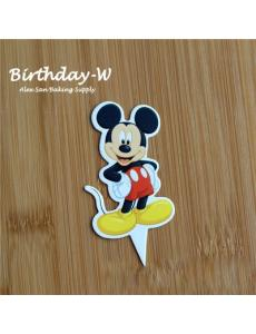 卡通纸插牌10pcs【Mickey Mouse】